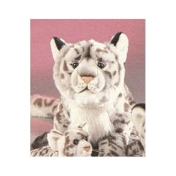 Snow Leopard Plush 16""