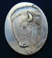 Buffalo or Bison Brooch