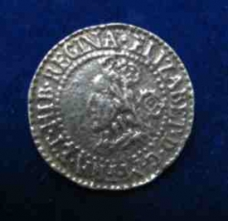 Elizabethan Sixpence Buttons