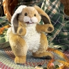 Patchwork Rabbit Puppet