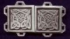Celtic Dog Knotwork Clasp