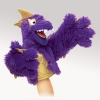 Purple Pi Folkmonster Puppet