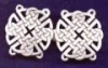 Round Celtic Knotwork Clasp