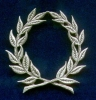 Laurel Wreath Pin
